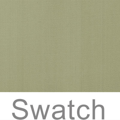 Swatch of Faux Silk in Pale Green