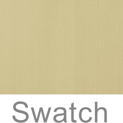 Swatch of Faux Silk in Wheat