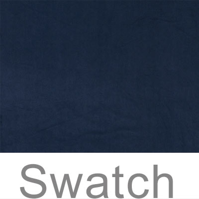 Swatch of Hunstanton Velvet in Navy Blue
