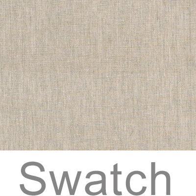 Swatch of Isabelle Linen in Natural