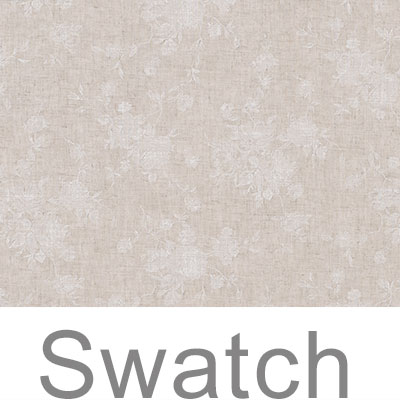 Swatch of Lisette Voile in Natural & White