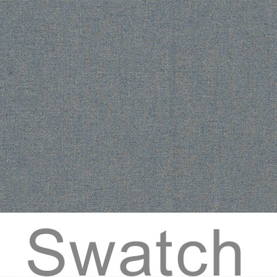 Swatch of Blue Herringbone Lovat Tweed