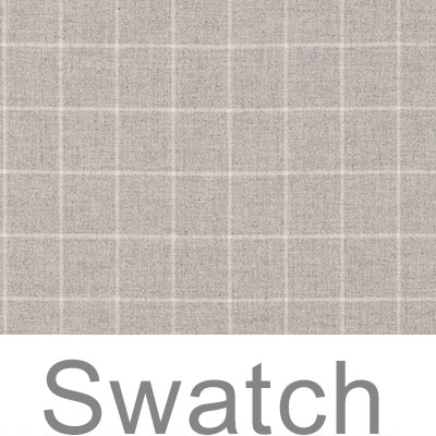 Swatch of Stirling Check Lovat Wool