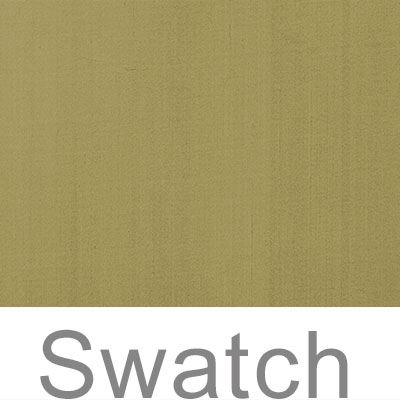 Swatch of Plain Silk Dupion in Antique Gold