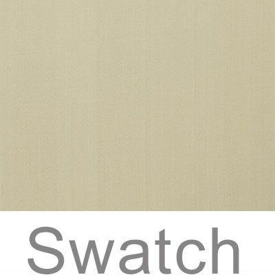 Swatch of Royal Oyster Plain Silk Dupion