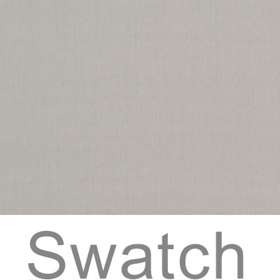 Swatch of Waterford Linen in Soft Grey