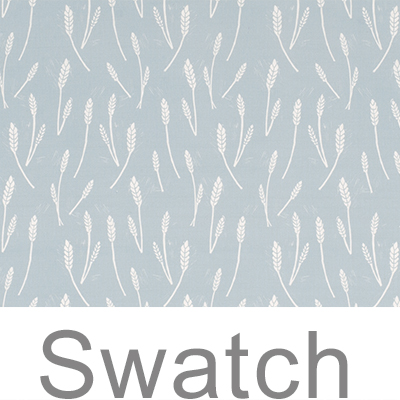 Swatch of Wheatfield in Duck Egg Blue