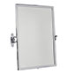 Stratford Rectangular Mirror in Nickel