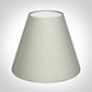 Candle Shade in Soft Grey Faux Silk