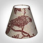 Candle Shade in Red Isabelle Linen
