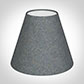 Candle Shade in Blue Herringbone Lovat Tweed