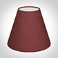 Candle Shade in Antique Red Silk