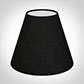 Candle Shade in Black Silk