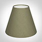 Candle Shade in Watered Green Silk