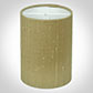 Cylinder Candle Shade in Antique Gold Silk