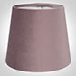 French Drum Candle Shade in Dusky Pink HunstantonVelvet