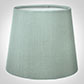 French Drum Candle Shade in French Grey Silk