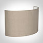 32cm Carlyle Half Shade in Putty Killowen Linen(with Shade Ring)
