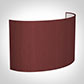32cm Carlyle Half Shade in Antique Red Silk (withShade Ring)