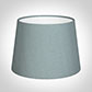 20cm Medium French Drum Shade in Rococo Blue Silk