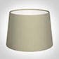 30cm Medium French Drum Shade in Pale Smoke Satin