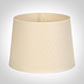 35cm Medium French Drum Shade in Parchment withCream Trim