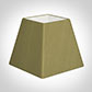 25cm Sloped Square Shade in Antique Gold Silk