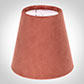 Tapered Candle Shade in Burnt Orange Hunstanton  Velvet