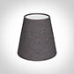 Tapered Candle Shade in Heather Herringbone Lovat Tweed