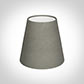 Tapered Candle Shade in Pewter Satin