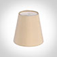 Tapered Candle Shade in Buttermilk Silk
