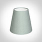 Tapered Candle Shade in French Grey Silk