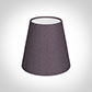 Tapered Candle Shade in Heather Silk