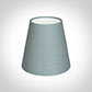 Tapered Candle Shade in Rococo Blue Silk