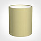 20cm Medium Cylinder Shade in Wheat Faux Silk