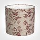 35cm Medium Cylinder Shade in Red Isabelle