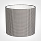 35cm Medium Cylinder Shade in Grey Longford Gingham