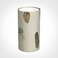 13cm Narrow Cylinder Shade in Stone Featherdown