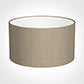 25cm Wide Cylinder Shade in Limestone Waterford Linen