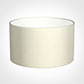 45cm Wide Cylinder Shade in Cream Satin