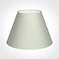 45cm Empire Shade in Soft Grey Faux Silk