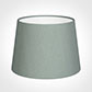 20cm Medium French Drum Shade in Aquamarine Faux Silk