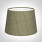25cm Medium French Drum in Talisker Check Lovat Wool