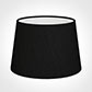 25cm Medium French Drum Shade in Black Silk