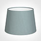 25cm Medium French Drum Shade in Rococo Blue Silk