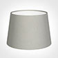 25cm Medium French Drum Shade in Soft Grey Waterford Linen