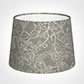 30cm Medium French Drum Shade in Grey Cheveley