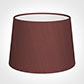 30cm Medium French Drum Shade in Old Red Faux Silk