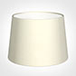 30cm Medium French Drum Shade in Cream Satin