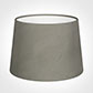 30cm Medium French Drum Shade in Pewter Satin
